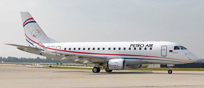 Petro Air takes quick delivery of Embraer E-170s.